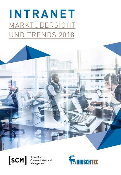 Intranet - Marktübersicht und Trends 2018 - Cover