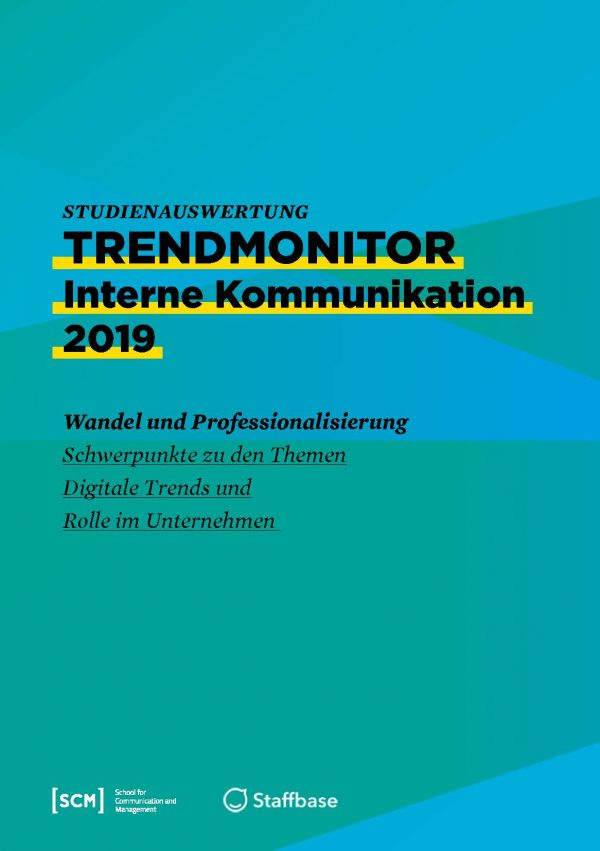 Trendmonitor Interne Kommunikation 2019