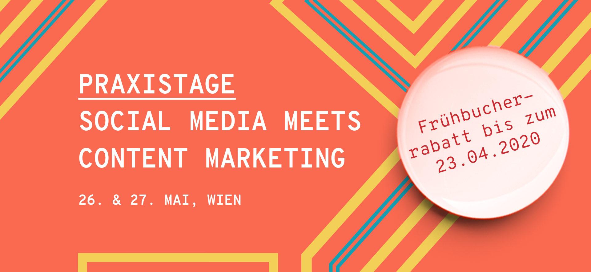 Praxistage Social Media meets Content Marketing