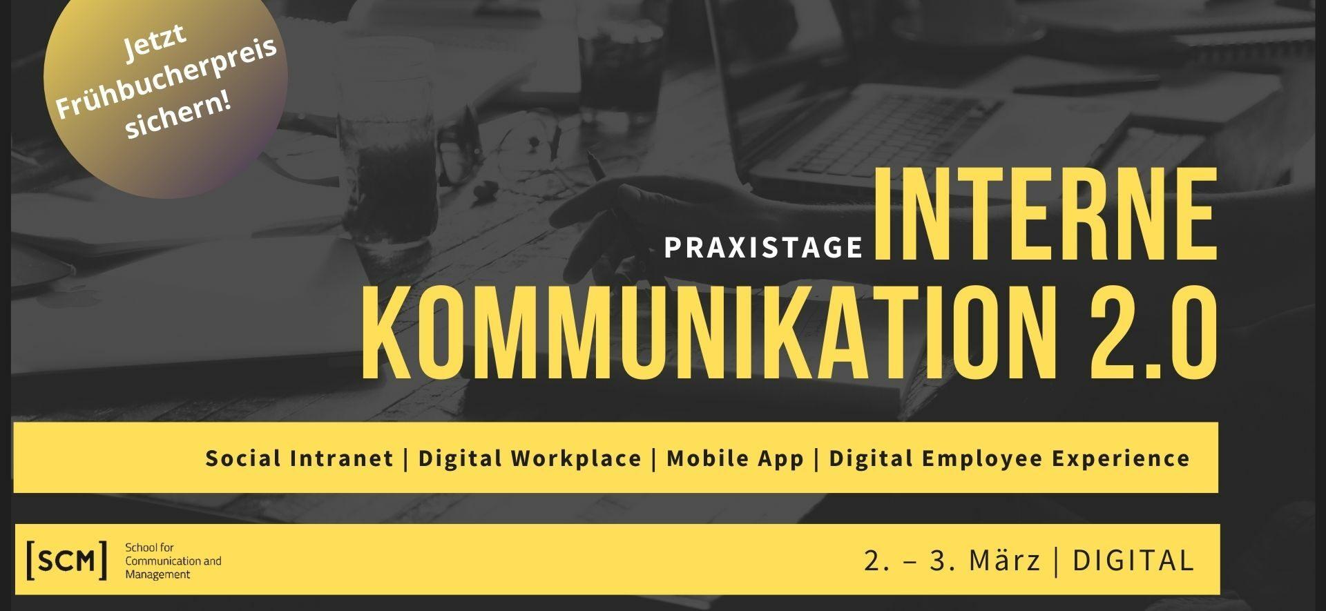 Praxistage Interne Kommunikation 2.0