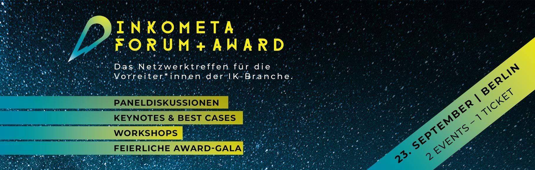 INKOMETA Forum und Award