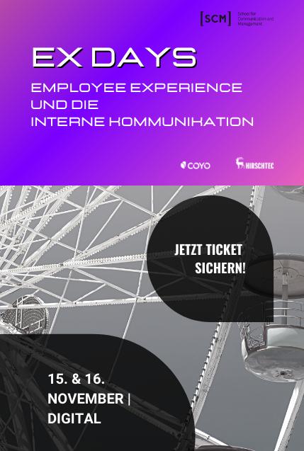 EX Days – Employee Experience und die Interne Kommunikation